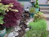 ...for this water feature I built for my ex-in laws.